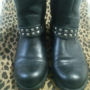 Ladies Guess Moto Style boot